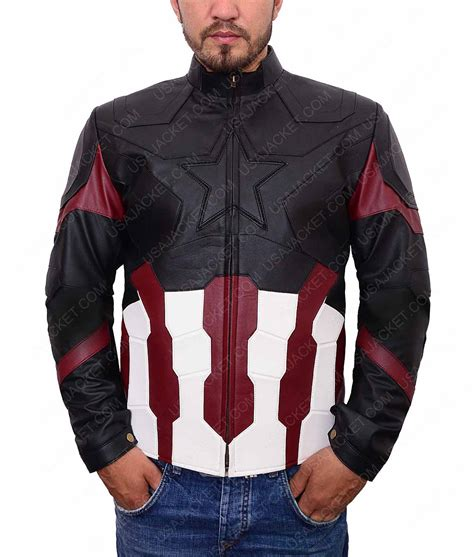 captain america infinity war captain america avengers infinity war steve rogers leather