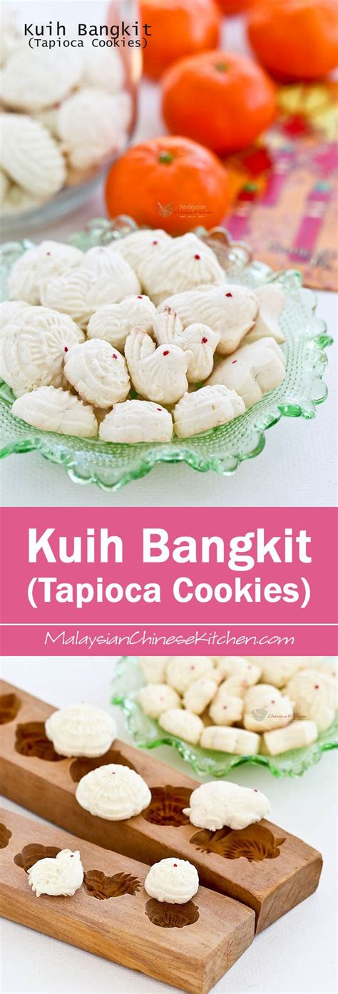 new year cookies malaysia check out kuih bangkit tapioca cookies it s so easy to