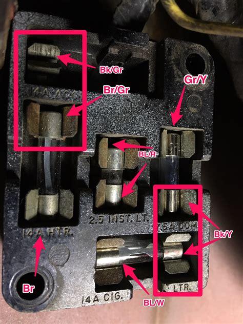 1966 mustang fuse box diagram 1965 mustang fuse panel fuse box diagram ford mustang