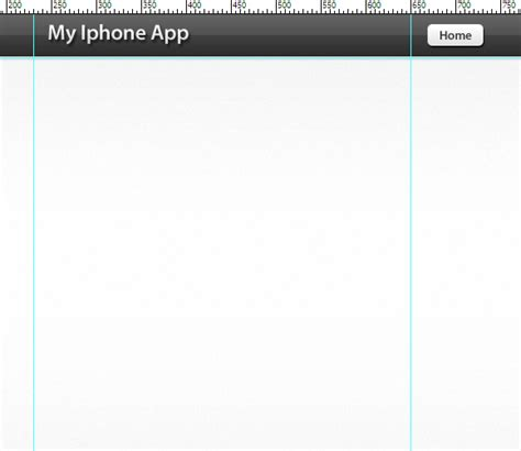 app header layout how to create an iphone app layout in photoshop