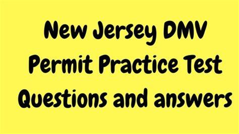 dmv nj written test questions  answers udemy