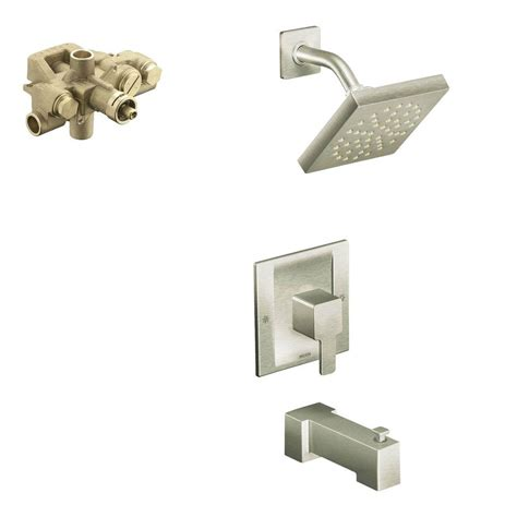moen single lever faucet drips sinks and faucets home moen 90 degree single handle 1 spray moentrol tub and