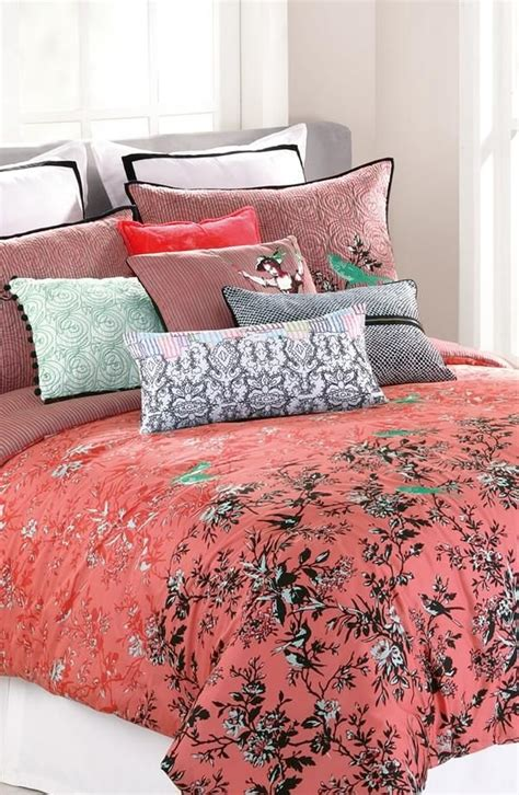 patterned coverlets best 25 coral bedspread ideas on pinterest blue teen
