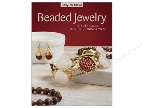 create sted jewelry books easy to make beaded jewelry book createforless