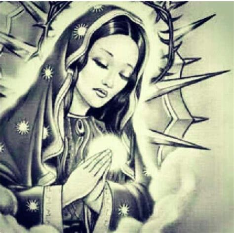 praying mary tattoo designs sketches pictures to pin on