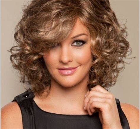 hairstyles for medium length curly medium length curly haircuts for faces all new