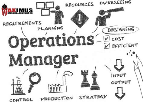 Operations Supervisor by Operations Manage Description Image Copy Maximus Screening Crushing Screening