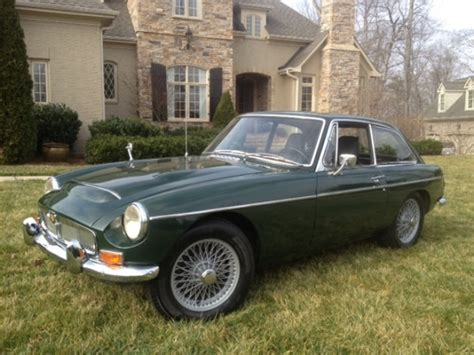 mgc usa brg overdrive and no reserve 1969 mgc gt bring a trailer