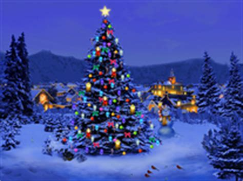 christmas tree screensaver  windows