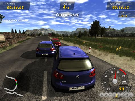 volkswagen gti racing free games 4 you volkswagen gti racing 2006 english