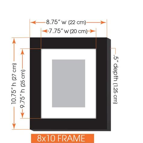 picture hanging template kit gallery 7 black photo frame