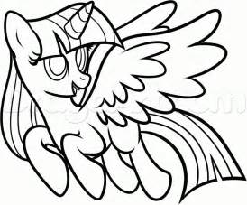 alicorn coloring pages free coloring pages of twilight sparkle