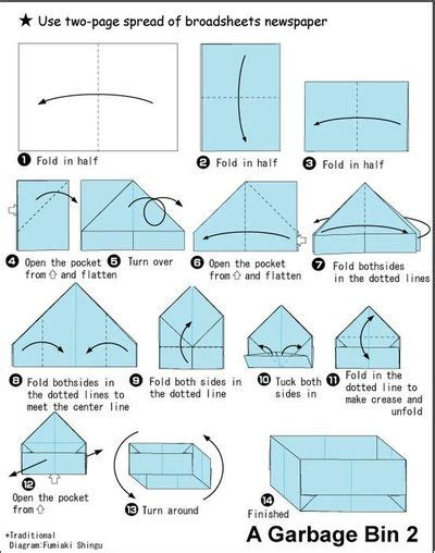 How To Use Paper To Make A Box - another paper box origami tutorial papercraft juxtapost