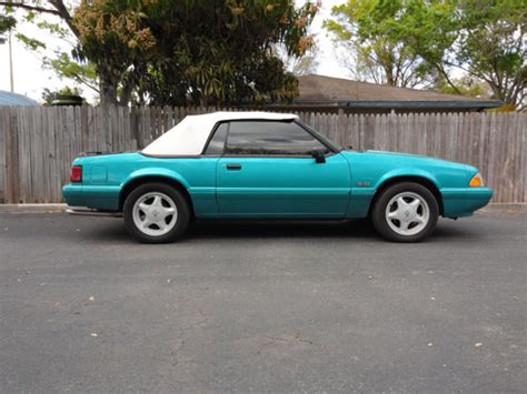 92 ford mustang lx 1992 mustang lx convertible