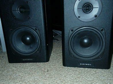 Kurzweil Ks40a Compact Flat Studio Monitor Speaker kurzweil ks40a home studio speakers for sale in blanchardstown dublin from cdownes