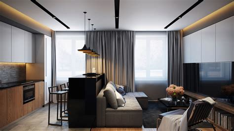 modern apartments open apartments that make creative use of texture and pattern