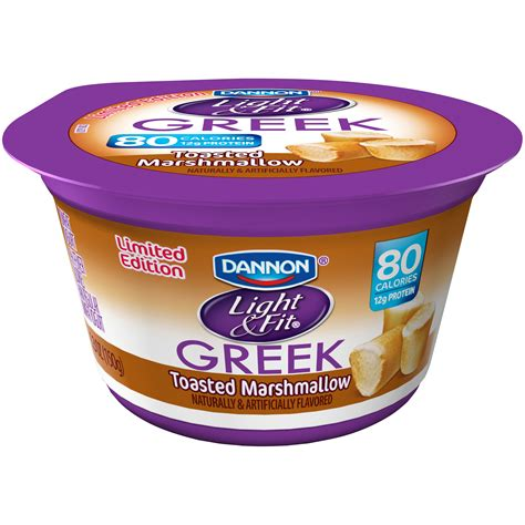 greek light and fit dannon light fit greek yogurt nutrition information