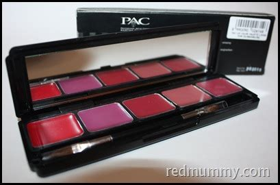 Eyeshadow Merah pigments blushers eyeshadow and lipstick of pac for sale pencinta merah lover