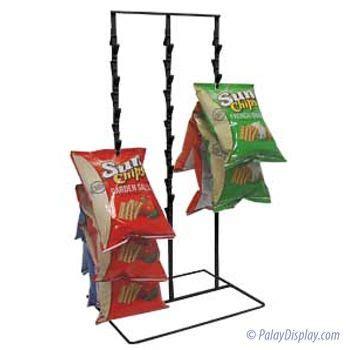 Potato Chip Rack by 36 Clip Chip Rack Potato Chip Racks Counter Chip Racks