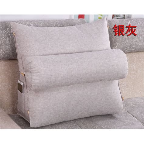 back wedge pillow for bed adjustable sofa bed chair rest neck support back wedge