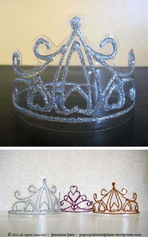 How To Make A Princess Tiara Out Of Paper - 10 beautiful diy crowns housing a forest
