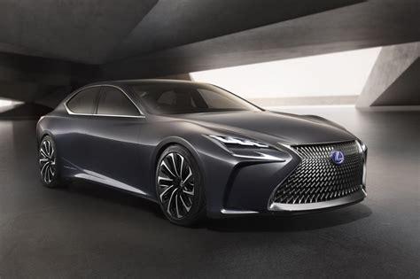 lexus lf fc lexus lf fc concept revealed previews next gen ls