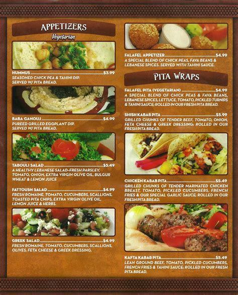 menu cuisine sultan lebanese cuisine bakery menu urbanspoon zomato