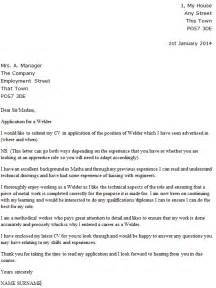 Fabricator Welder Cover Letter by Fabricator Welder Cover Letter