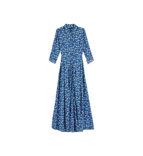 Robe En Femme Caroll - robe celestine caroll en bleu pour femme galeries lafayette