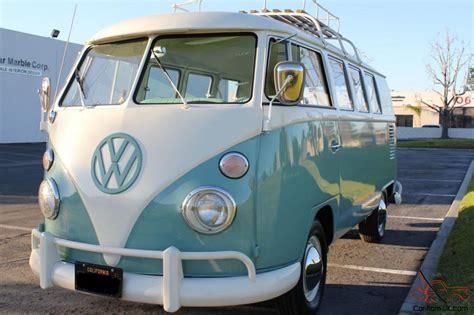 volkswagen minibus 1964 1964 vw bus in mint condition
