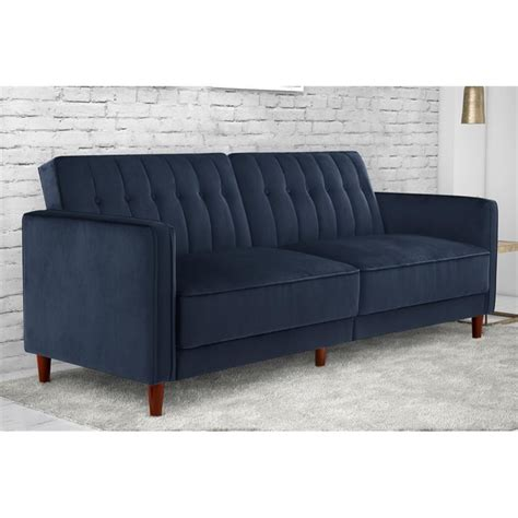Blue Velvet Sleeper Sofa Blue Velvet Sleeper Sofa Blue Velvet Tufted Bottom Sofa Thesofa
