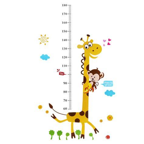 Giraffe Bedroom Online Get Cheap Measuring Height Chart Aliexpress Com