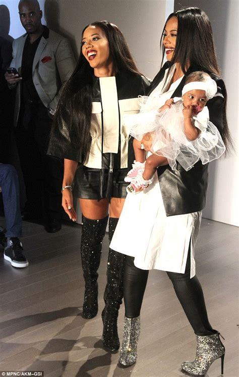 vanessa simmons brings her beautiful baby girl on the vanessa simmons brings her beautiful baby girl on the