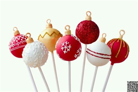 ornament cake pops 161 f i e s t a pinterest