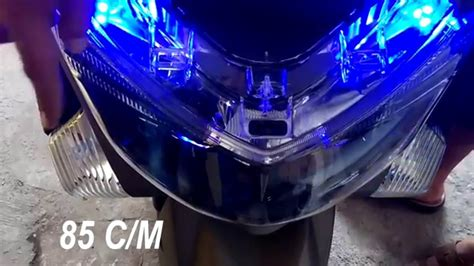 Lu Led Motor Nmax flasher led motor tutorial instalasi on yamaha nmax
