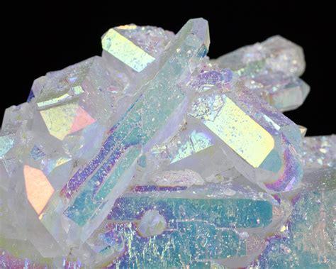 aura crystals 6 quot doubleterminated opal aura quartz 5 quot main crystal