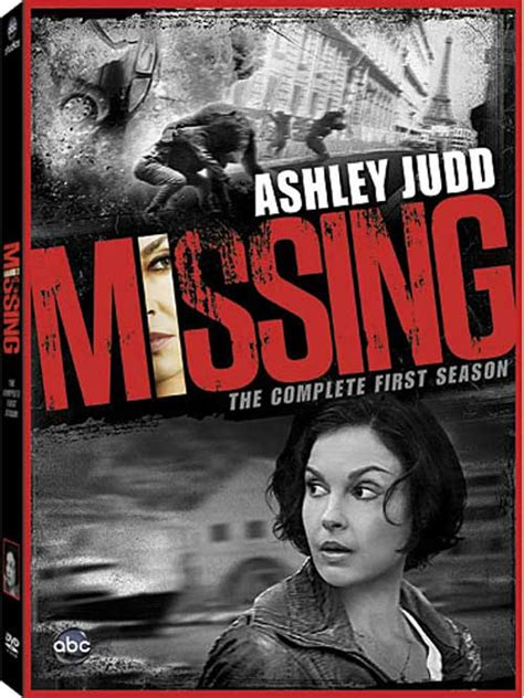 missing dvd news announcement for missing the complete