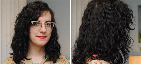 before and after of perms on thin hair a week with my first permanent wave by gum by golly