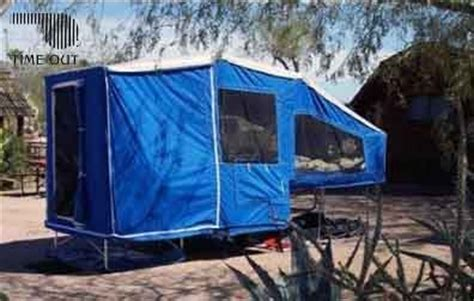 motorcycle camper trailer time  deluxe camper add ons