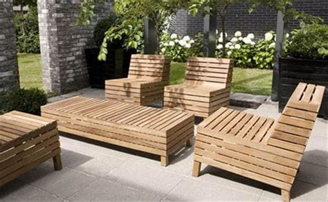 garden patio furniture 39 ideas about pallet outdoor furniture for modern look