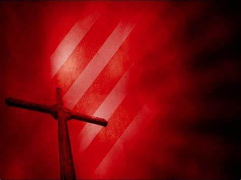 easter cross red | harvest media | worshiphouse media