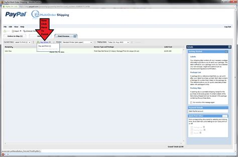 ship using paypal tutorial how to ship packages using paypal shipping