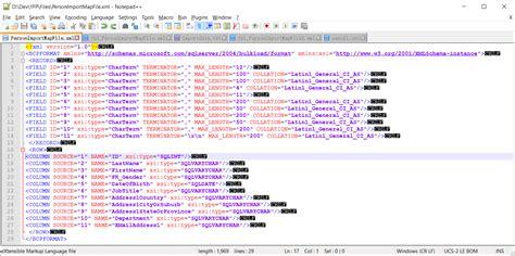 format file bulk insert sql bulk insert with format file not skipping column in