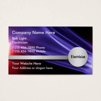 electrician business card template 138 electrical contractor business cards and electrical
