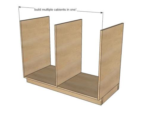 Kitchen Cabinets 101 Kitchen Base Cabinets 101 White Woodworking Projects