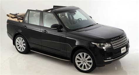 land rover convertible 4 door nce makes a convertible of sorts out of the 2013 range rover