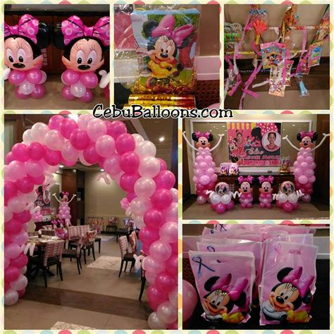 Minnie Mouse Balloon Decoration by Golden Cowrie Lahug Cebu Balloons And Supplies