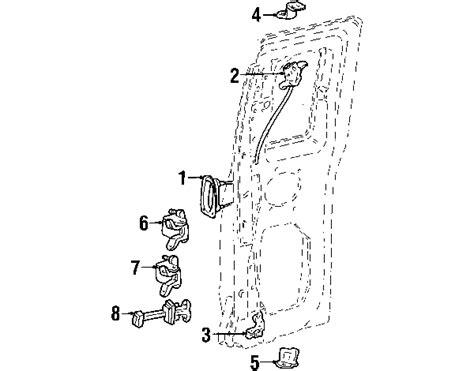 2002 ford ranger parts diagram parts 174 ford lock ranger lower left partnumber