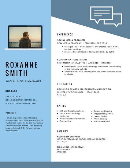 Free Online Resume Templates Word by Customize 733 Modern Resume Templates Online Canva