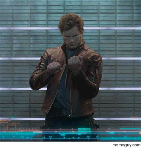 Middle Finger Meme Gif - guardians of the galaxy bad guy memes